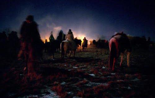 Big Foot's Band Traveled at night